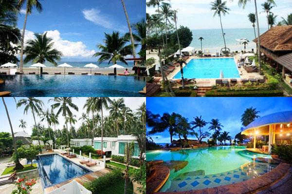 โรงแรมเกาะช้างมีสระว่ายน้ำ