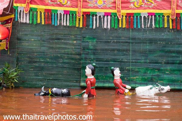 โรงละครหุ่นกระบอกน้ำ เวียดนาม